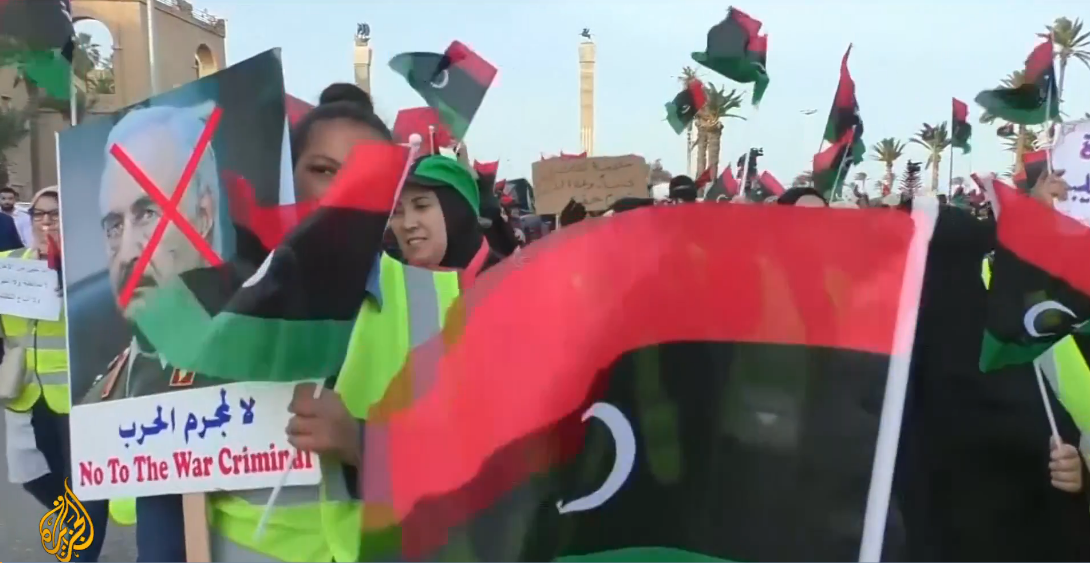 Trump praises Haftar in apparent reversal of US policy on Libya