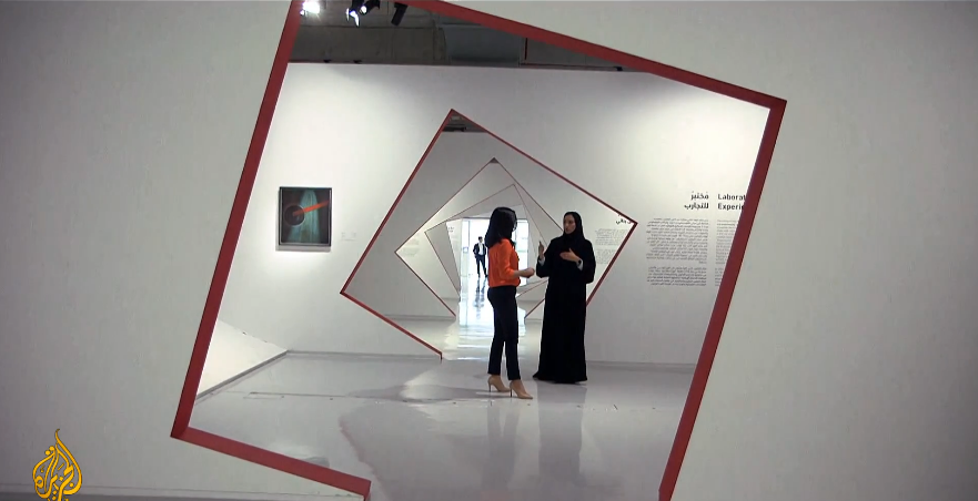 How artists in Doha are drawing inspiration from Russia