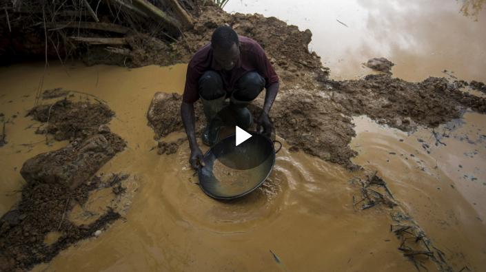 Ghana: Illegal gold mining threatens water supplies