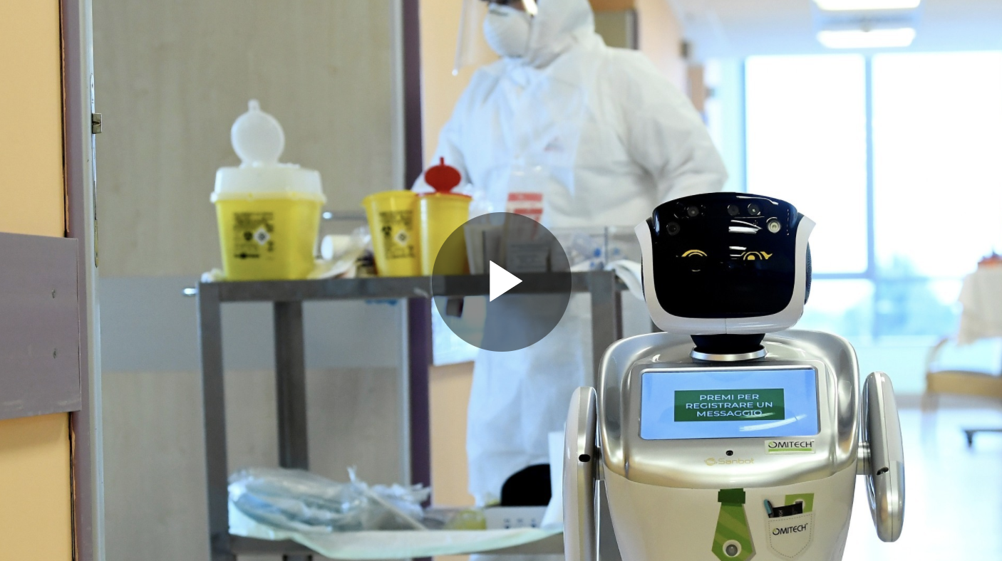 How robots are helping in the battle against COVID-19