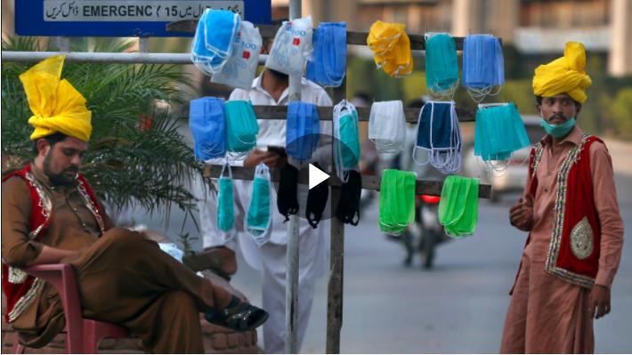 Pakistan coronavirus: Concerns grow over use of low-quality masks