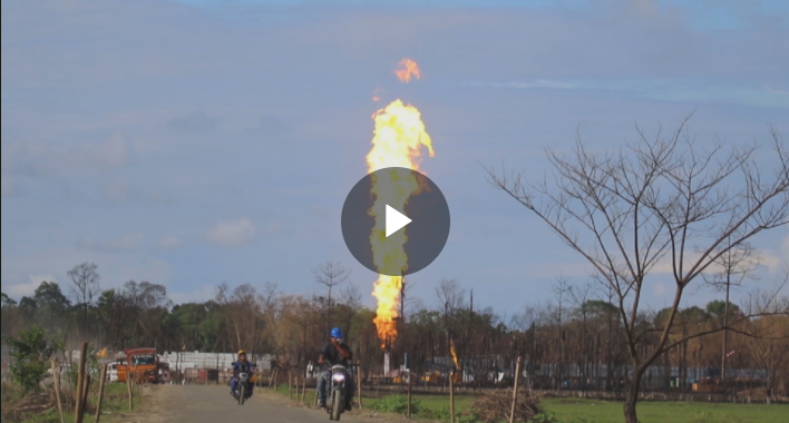 Indians call for compensation over oil well blaze
