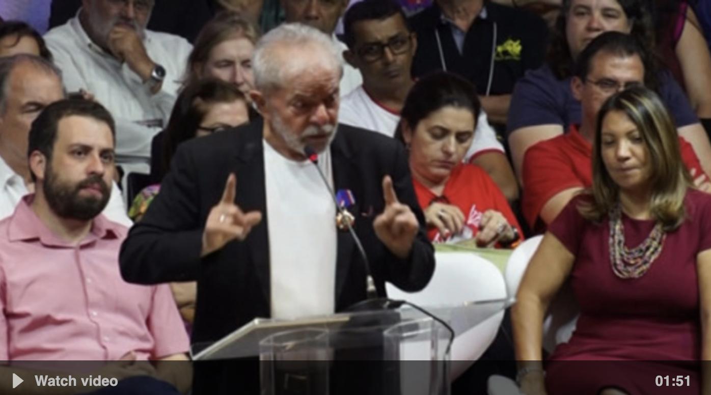 A comeback to politics for Brazil's Lula da Silva?