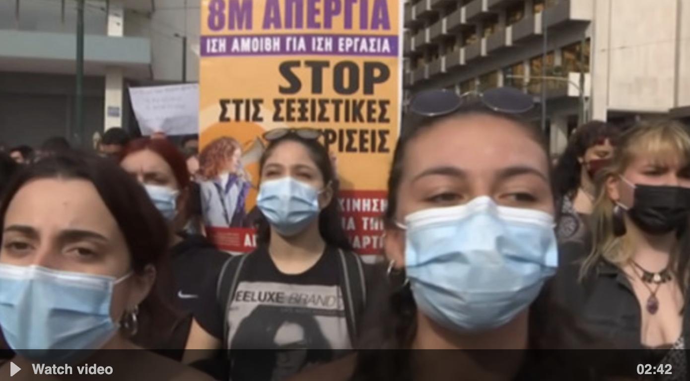 Pandemic overshadows International Women's Day