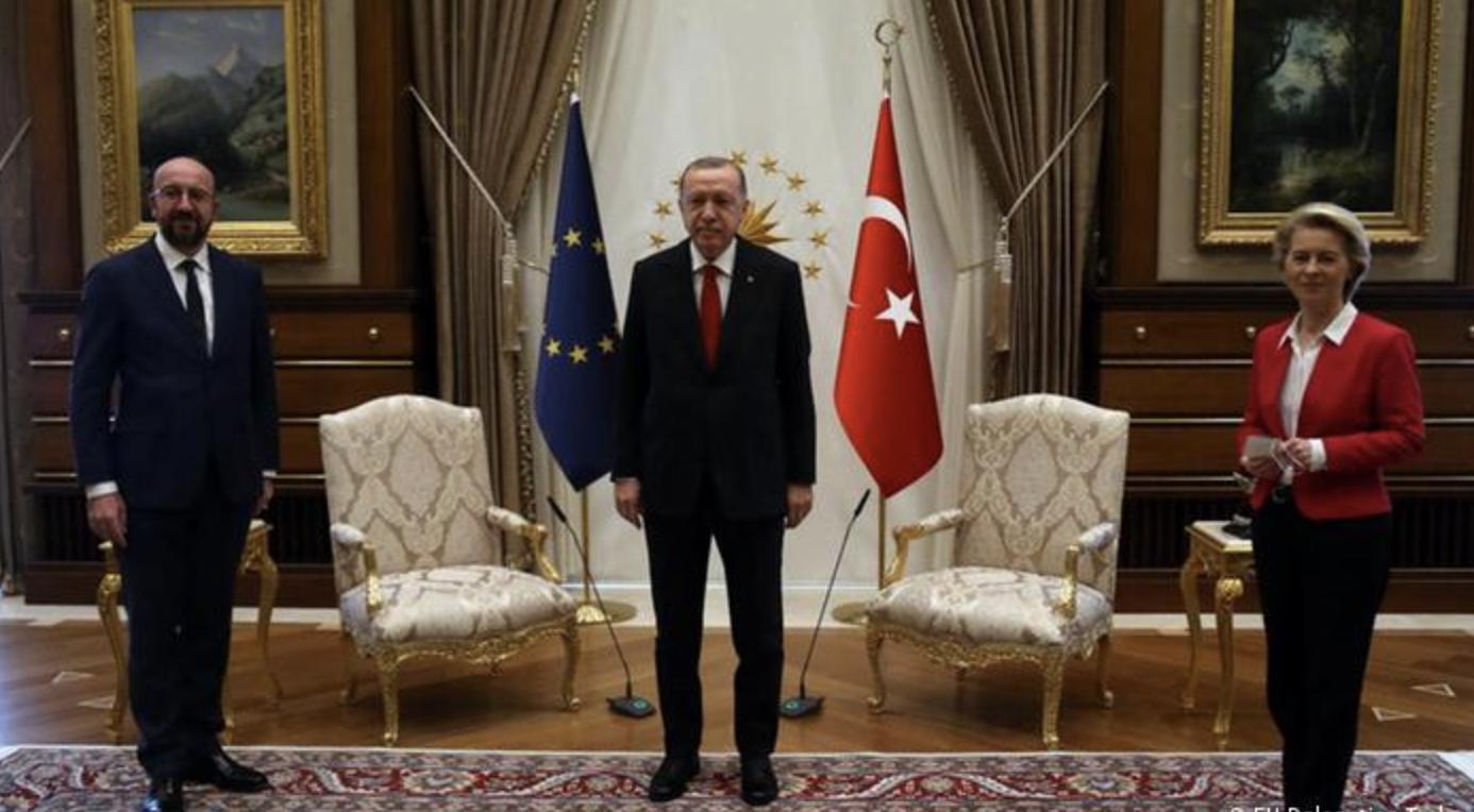 EU and Turkey's 'sofagate' blame game enters round 2
